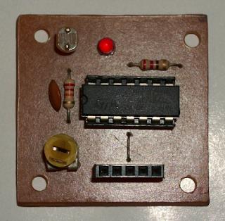 Módulo sensor de luz y oscuridad
