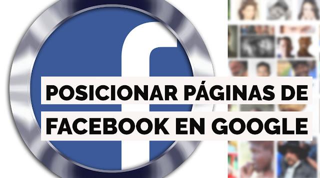 Experimento para posicionar una página de FB en Google