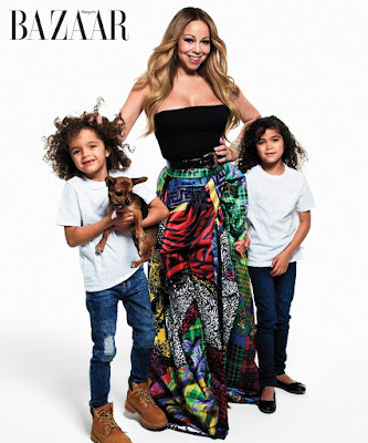 Music Legends Pose With Their Kids For Harper's Bazaar ICONS Spread - Image ~ Naijabang