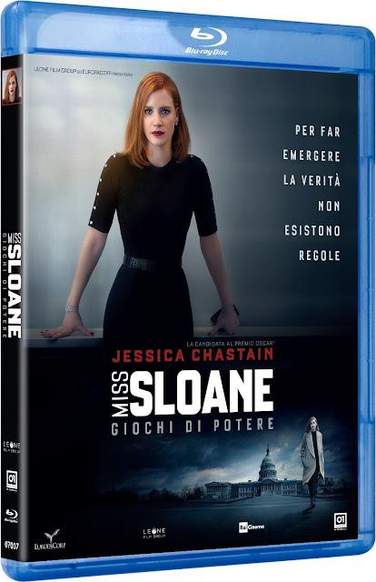 Miss Sloane: Giochi Di Potere Blu-Ray