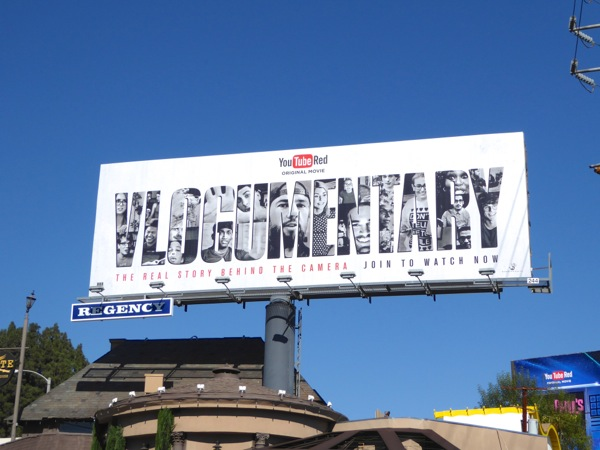 Vlogumentary movie billboard