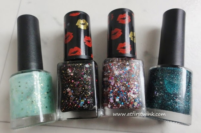 Modi Christmas 2012 nail polishes