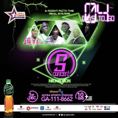 Battle of the DJs – Nii Ayi Tagoe, Masta Jay, Kastro, Vyrusky, DJ Lord, Mono, Others for S Concert