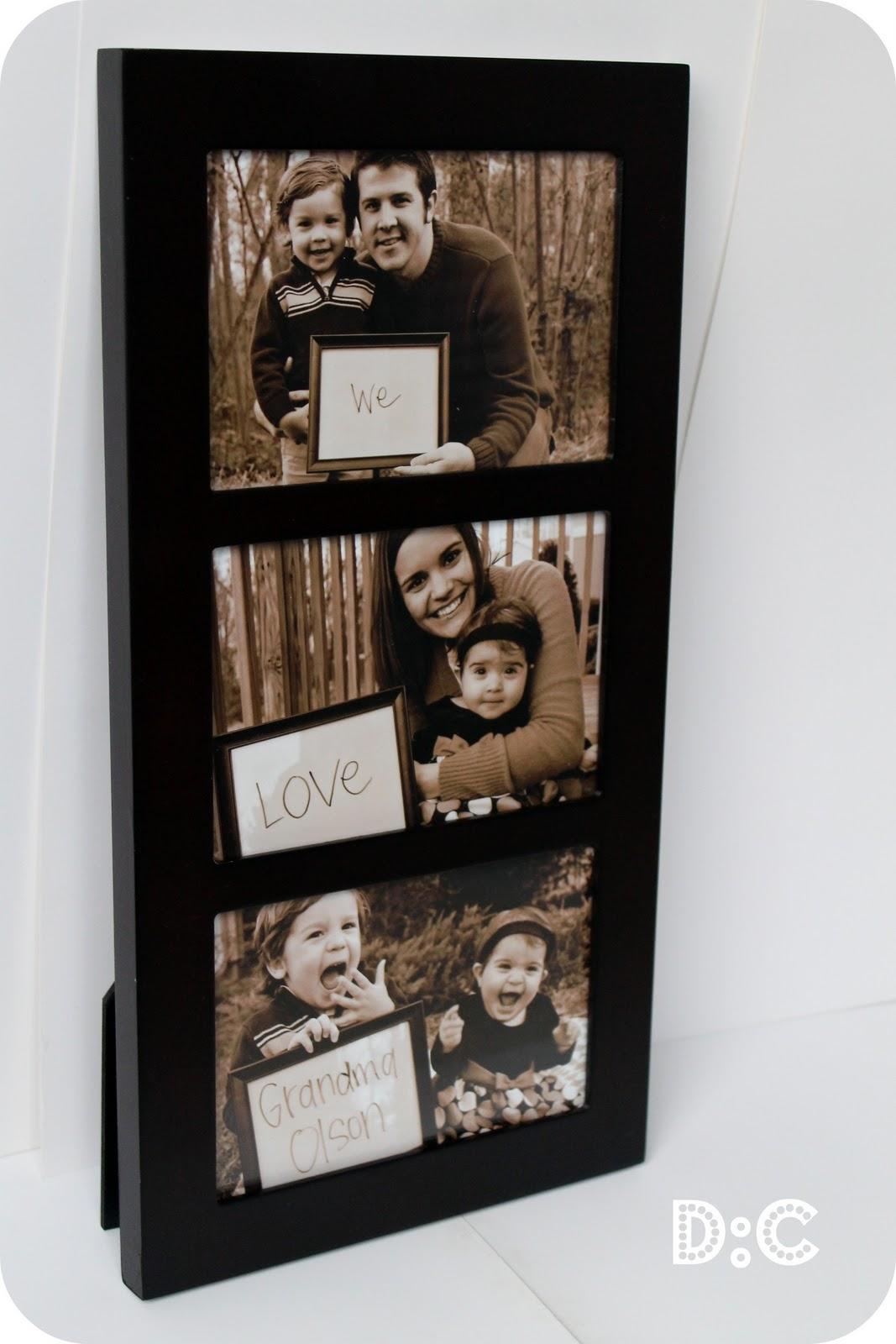 Destination: Craft: Personalized Grandparent Gift