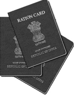 Ration card in India