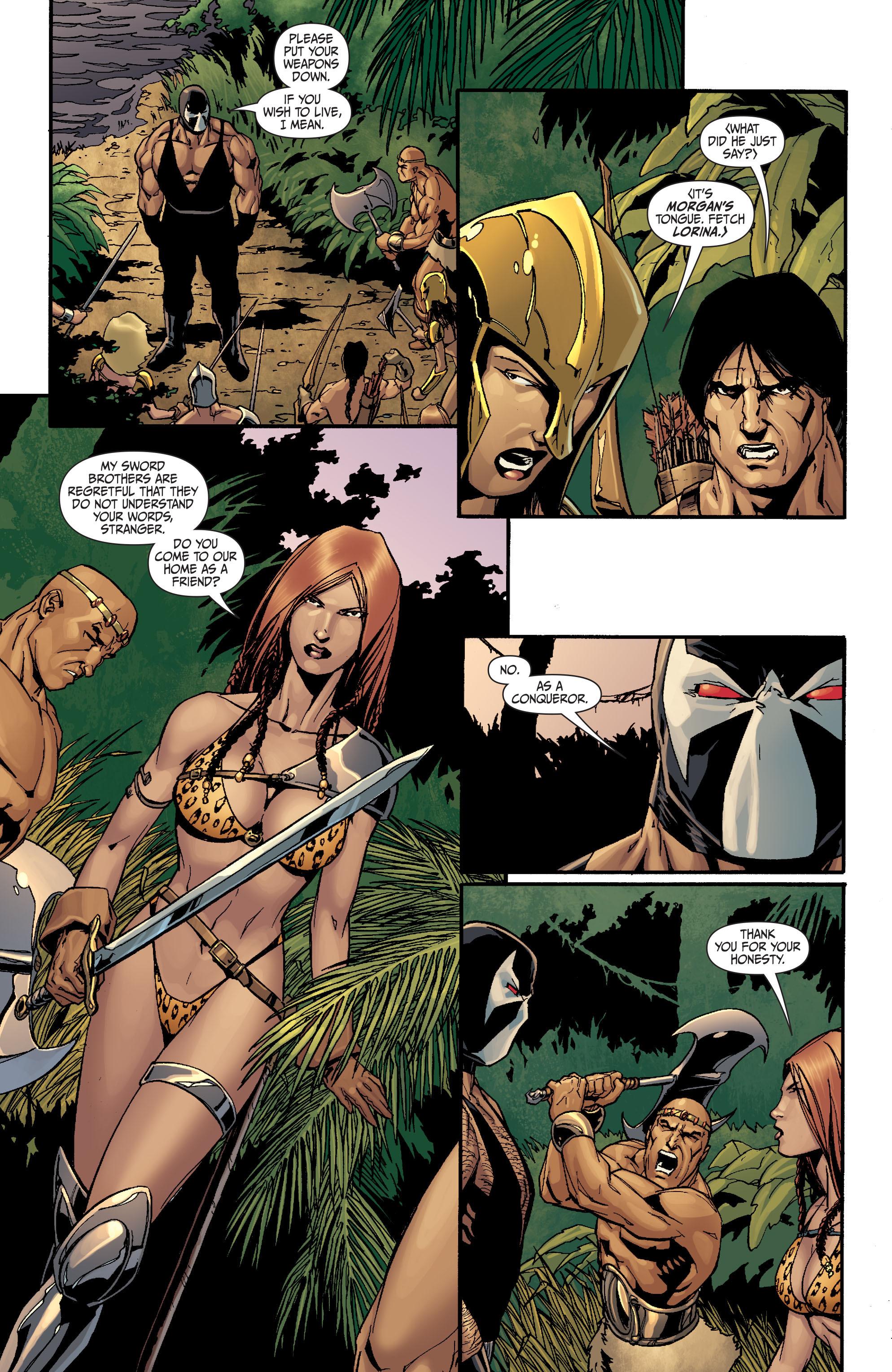 Read online Secret Six (2008) comic -  Issue #26 - 2