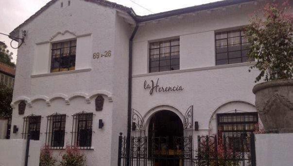 La herencia restaurante en Bogotá
