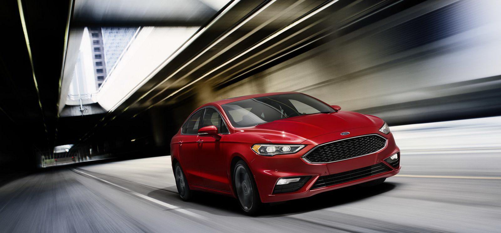 Ford Fusion Sport 2017 khá đắt so với mặt bằng chung