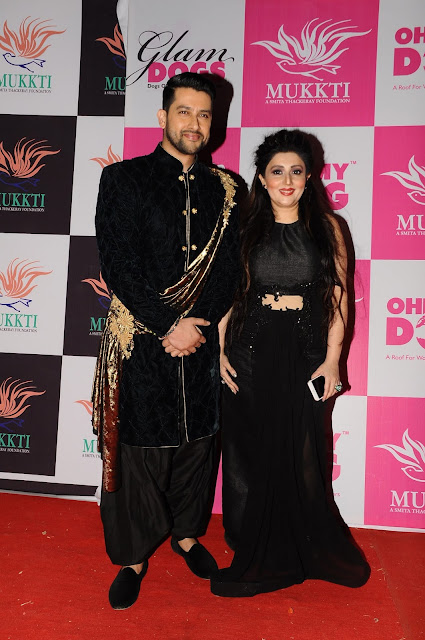 16. Aftab Shivdasani with Archana Kochhar