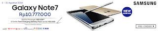 Samsung Galaxy Note7 Preorder