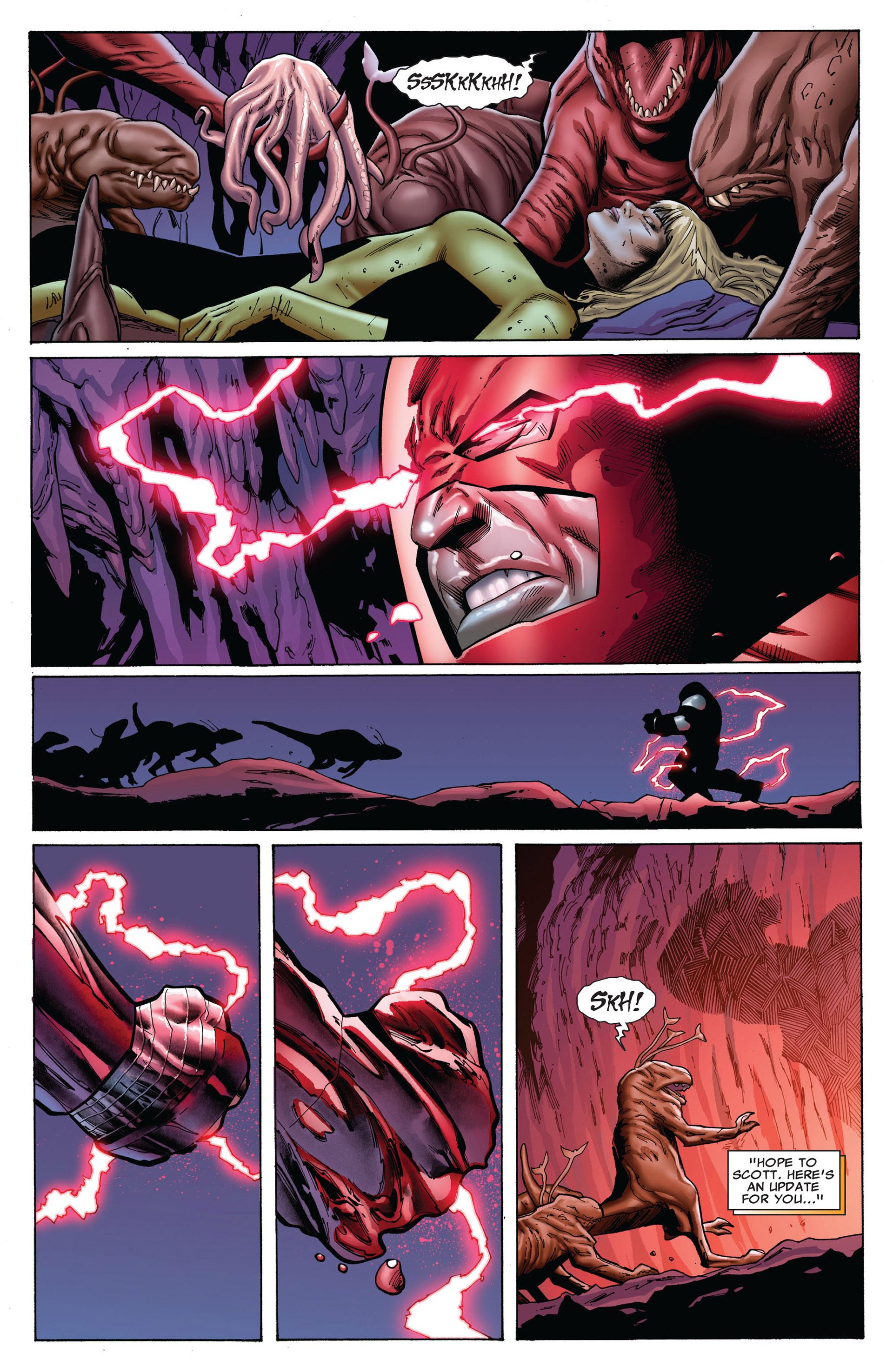 Read online Uncanny X-Men (2012) comic -  Issue #8 - 9