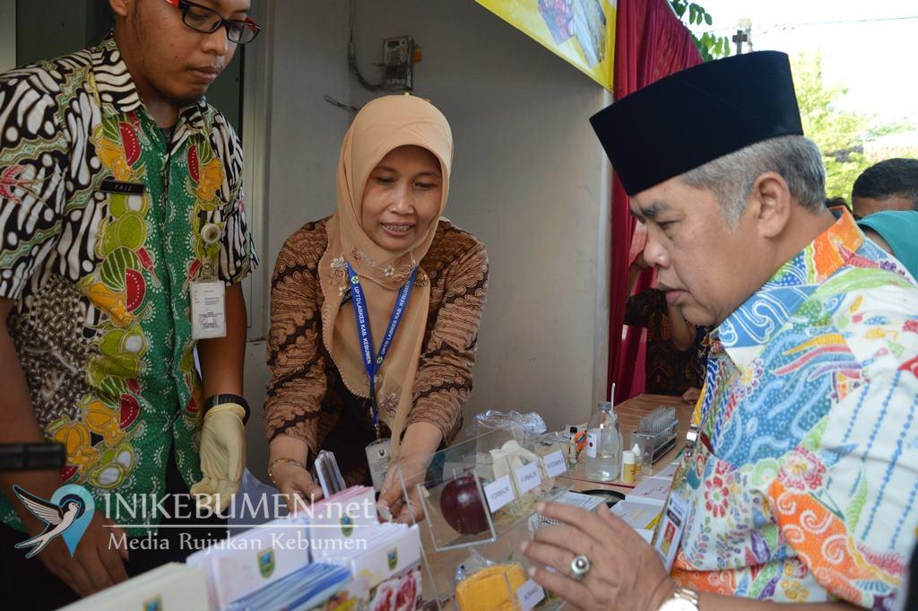 Jamin Keamanan Pangan, Pemkab Kebumen Luncurkan Lab Mini di Pasar Tumenggungan