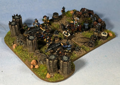 1st place: 30YW Artillery, by bradpitre - wins £20 Pendraken credit, and a Scourge Army from Hawk Wargames!