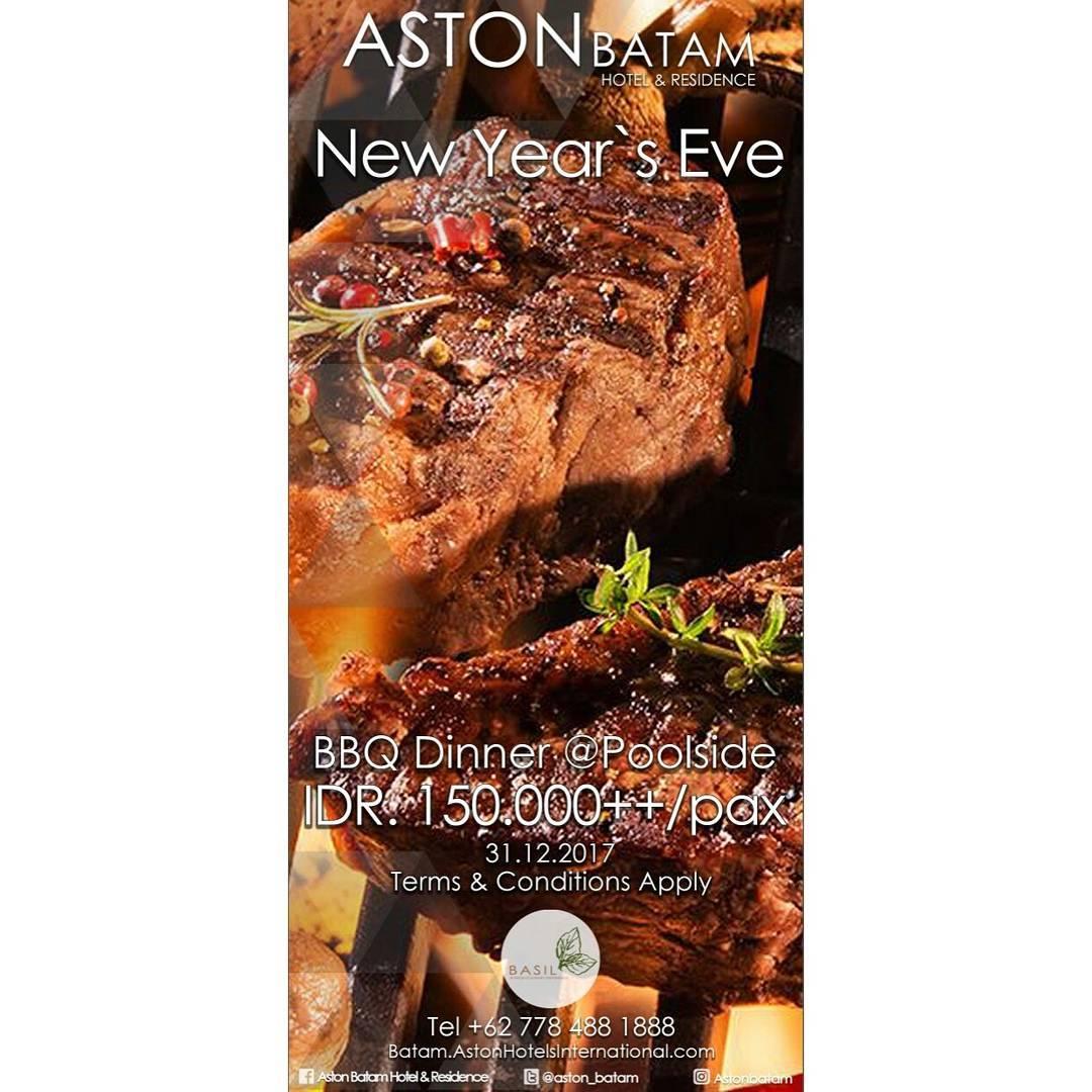 New Year's Evet Paket Aston Batam