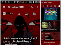 Download BBM Theme Anime Uchiha Itachi v3.1.0.13  MOD Apk Terbaru