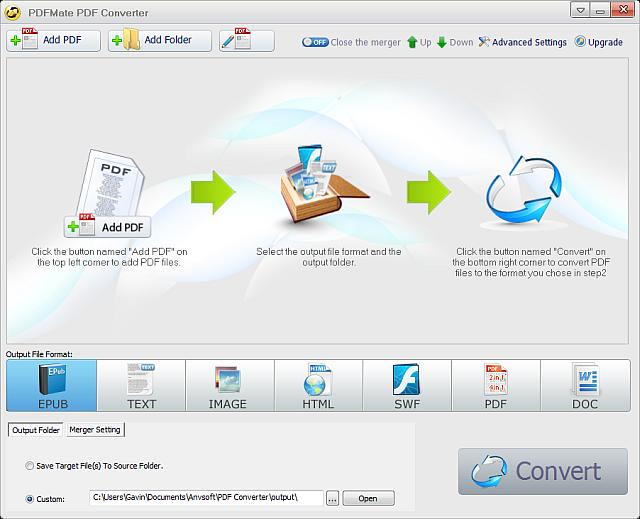convertir des fichiers PDF vers Word pdf mate