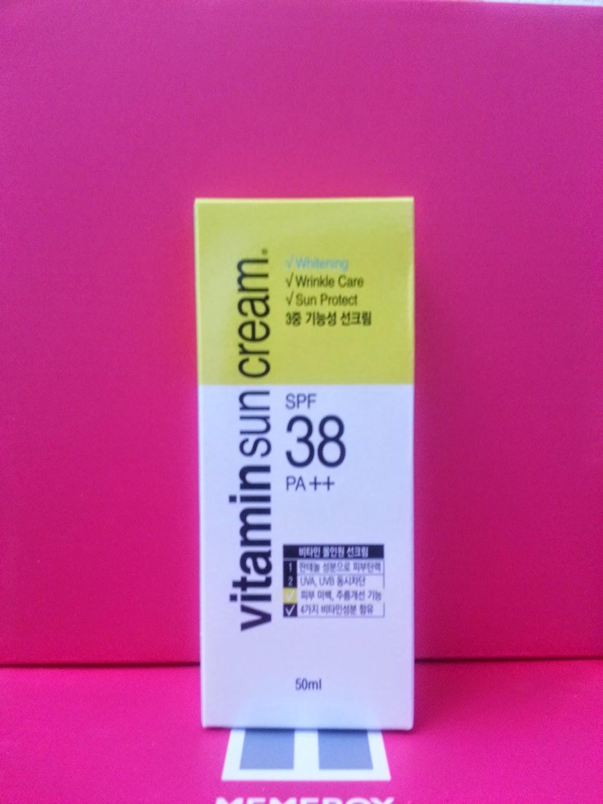 EVAS Vitamin Sun Cream SPF 38 PA++
