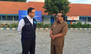Mendikbud Sidak UN 2016 di SMA Hang Tuah Surabaya
