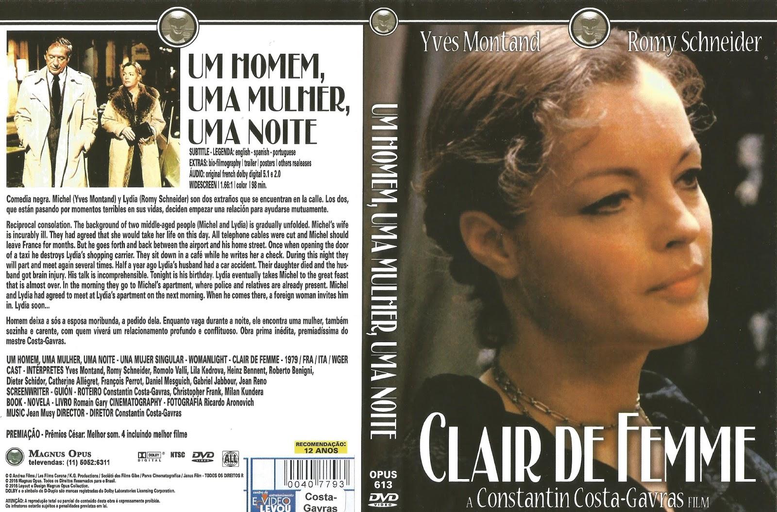 Poster do filme Um Homem, Uma Mulher, Uma Noite