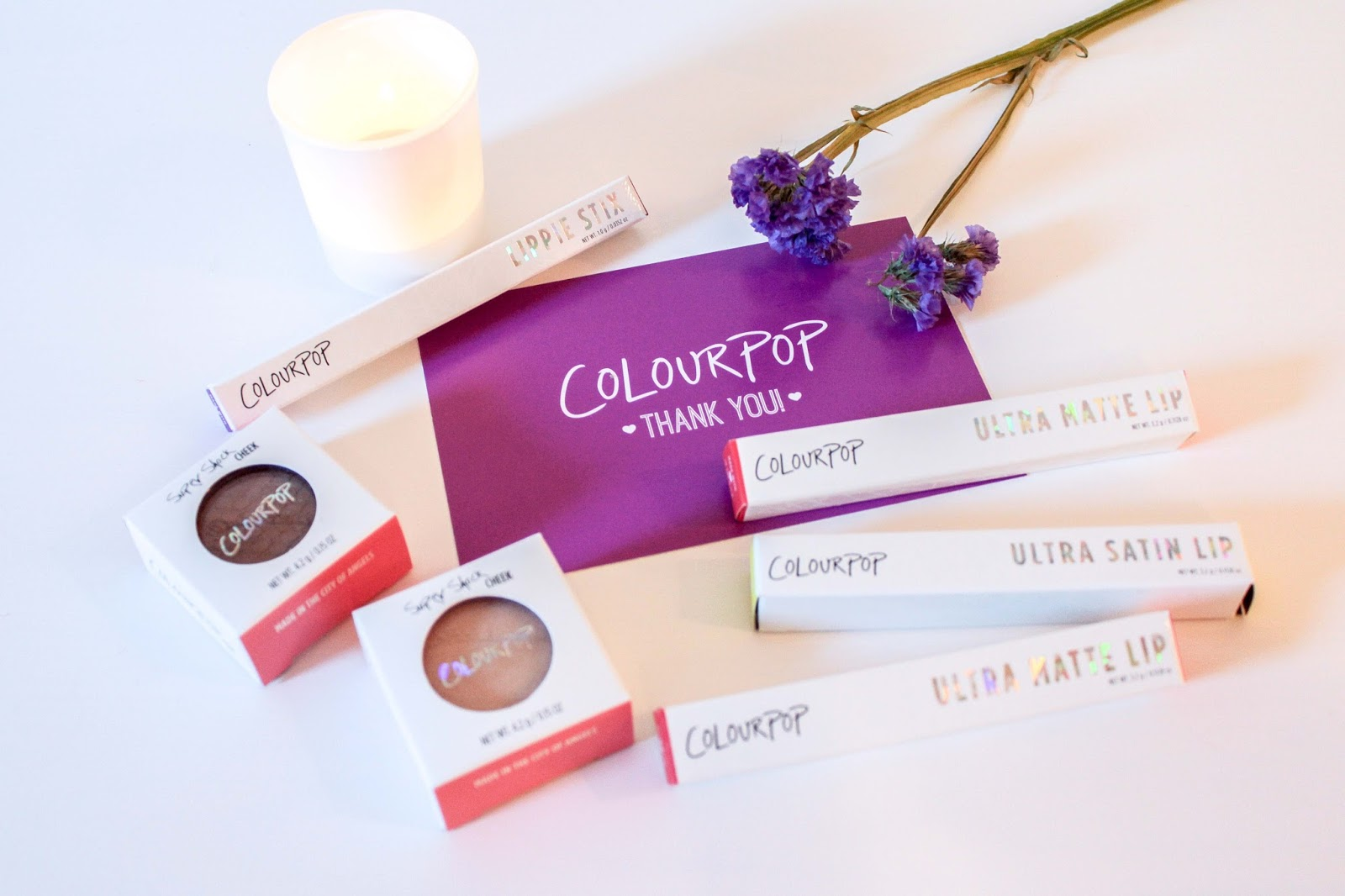 ColourPop Makeup Haul