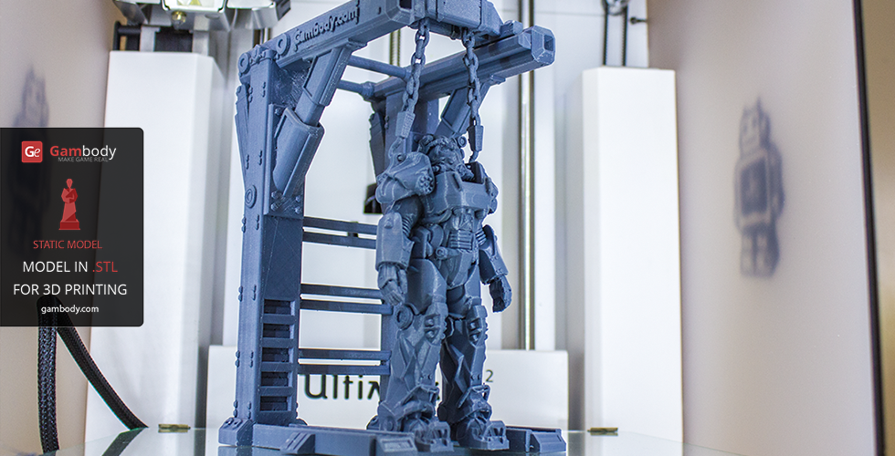 3D T-60 Power Armor Model - Fallout 4 | 3D Models by Lambert