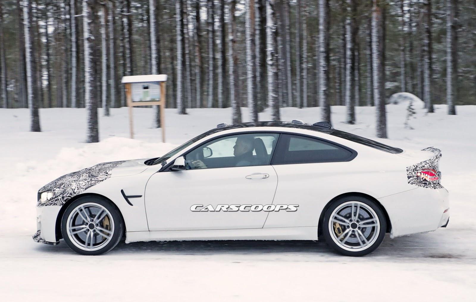 2014 - [BMW] M3 & M4 [F80/F82/F83] - Page 24 Spied-BMW-M4-CS-5