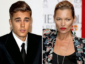 Kate Moss scolded Justin Bieber
