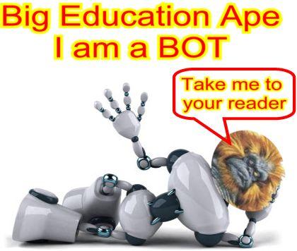 Image result for big education ape robot teacher