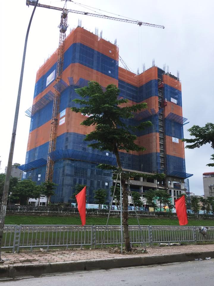 Cập nhất tiến độ xây dựng chung cư 349 Vũ Tông Phan