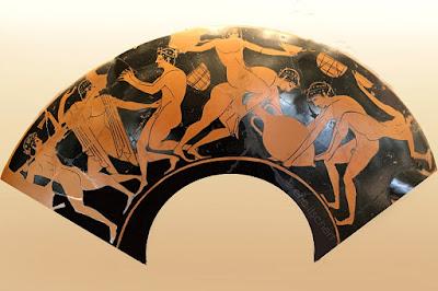 dionysos,vin,kylix,bacchanales,mystères dionysiaques
