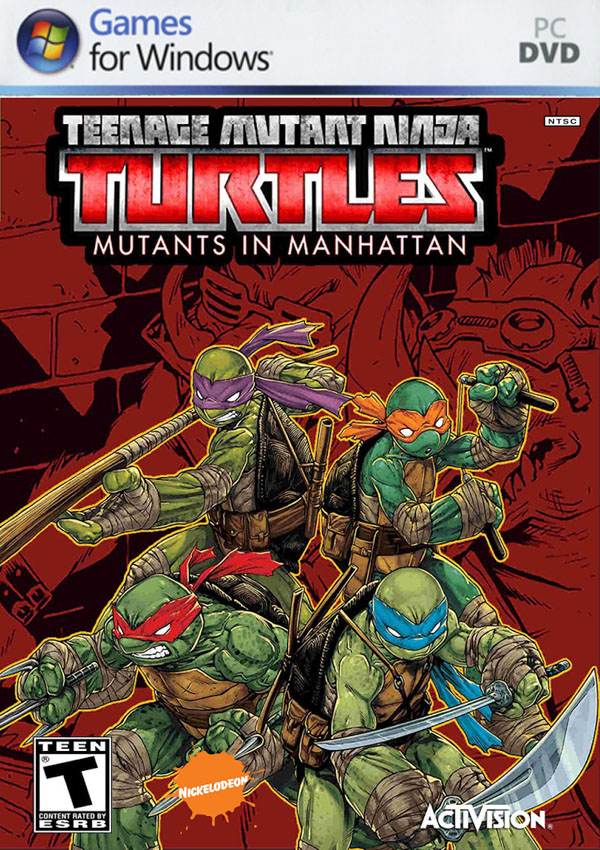 Teenage Mutant Ninja Turtles Mutants In Manhattan Download Cover Free Game