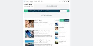 Arlina theme Blogger Template