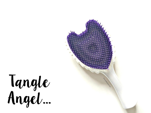 Tangle Angel Wow White Review, Tangle Angel on Thick Hair