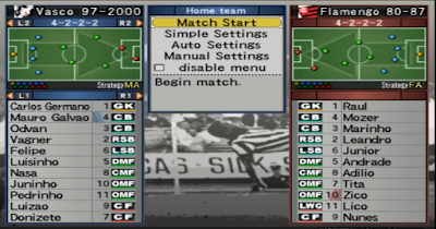 Winning Eleven Classicos 2007 - World Clubs Edition (for WE10JL) + Update 1.1