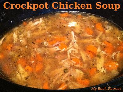 chicken soup, crockpot, soup, dinner, warm, veggies