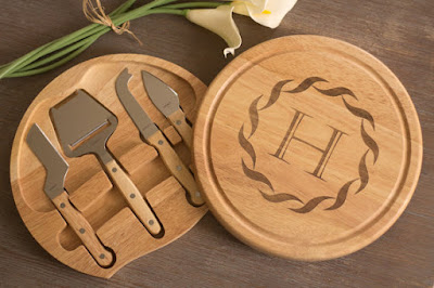 Personalized Cheese Board wedding gift
