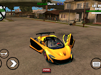 Mclaren P1 DFF Only GTA SA Android