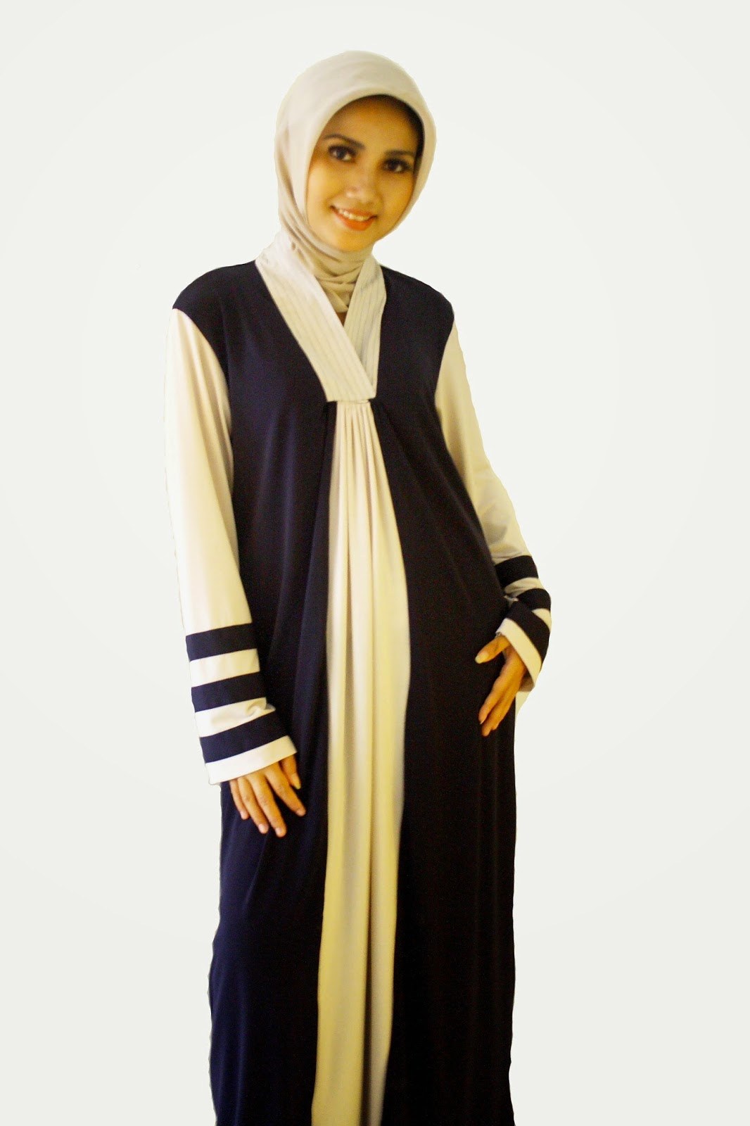 Model Baju Muslim Gamis Remaja Modis Untuk Lebaran