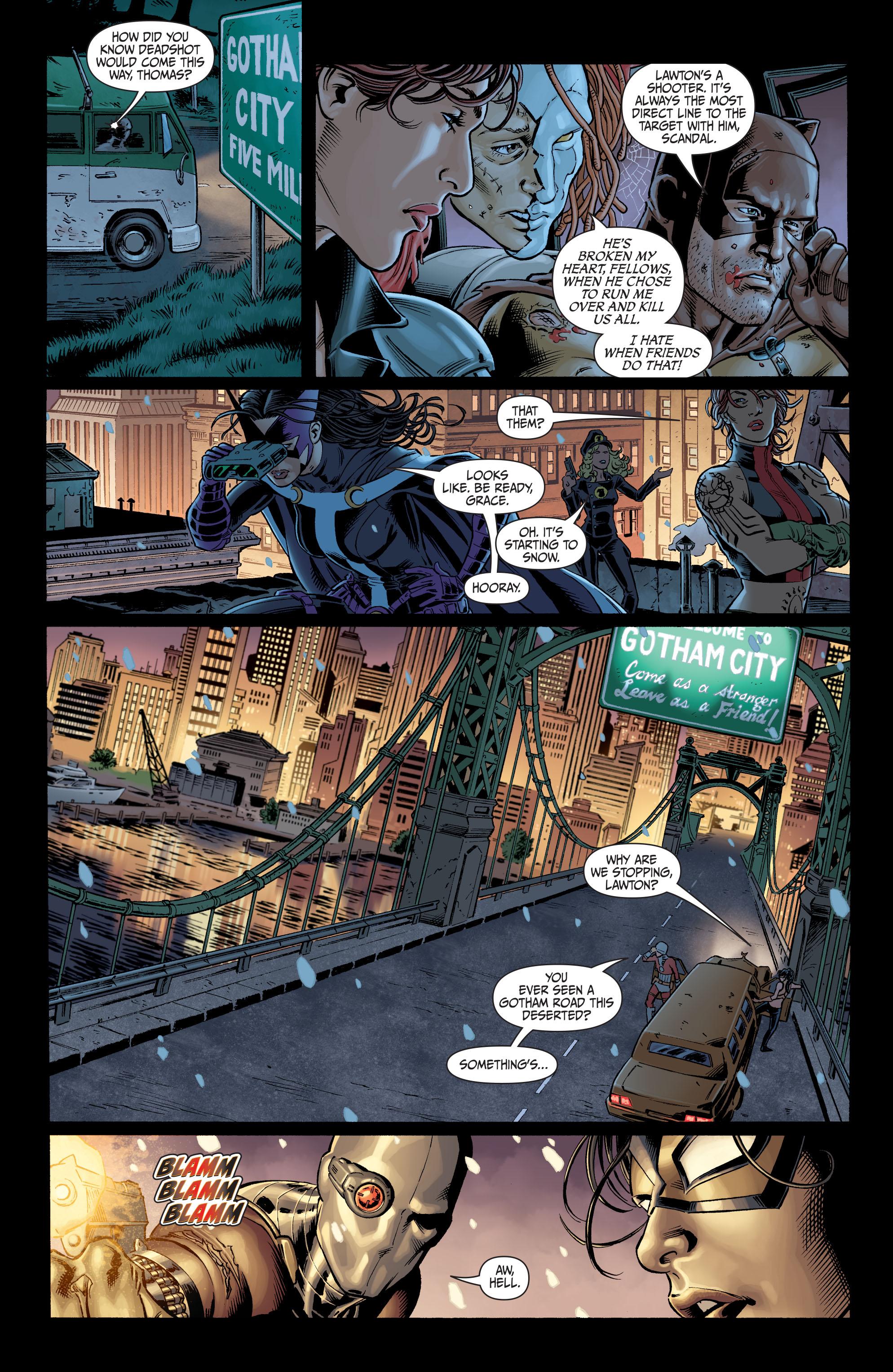 Read online Secret Six (2008) comic -  Issue #7 - 6