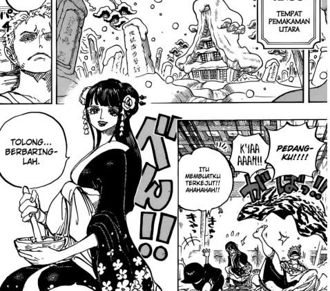 Pembahasan One Piece 887 Guru Ilmu Sosial