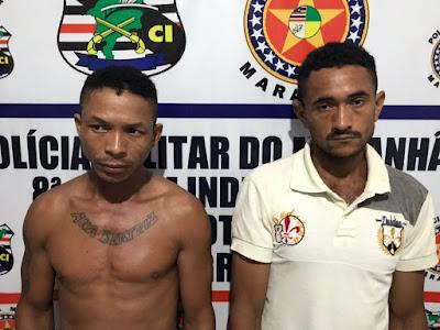 PM prende acusados de assassinarem homem a facadas em clube de Vargem Grande