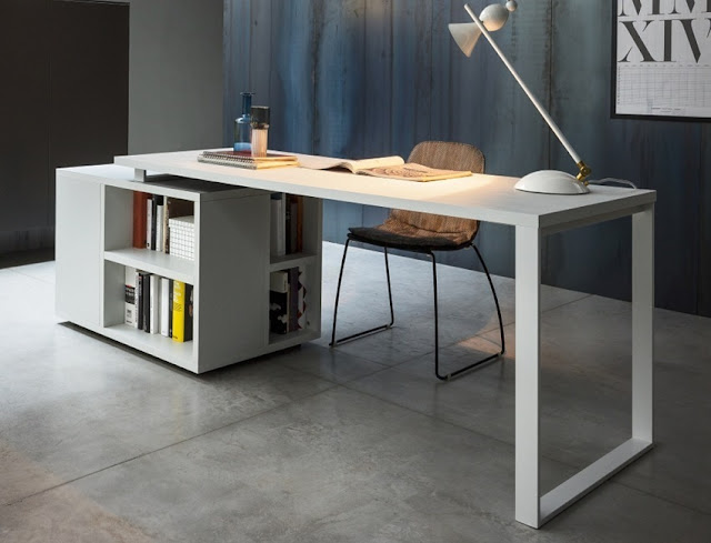 best buy white modern home office furniture Singapore for sale