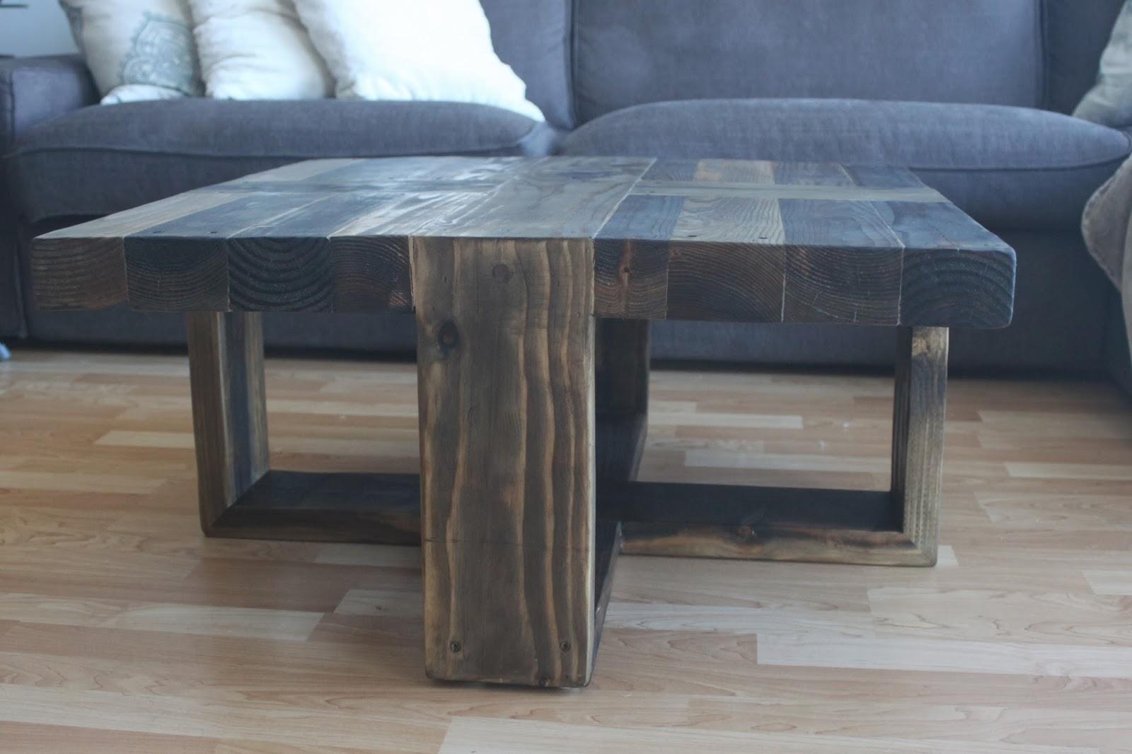 The Polish Carpenter Unique Rustic Coffee Table