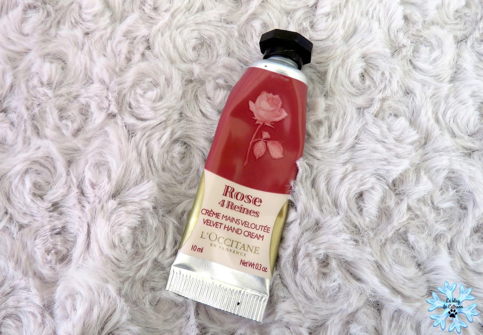 Rose 4 Reines - Crème Mains Veloutée - L'Occitane