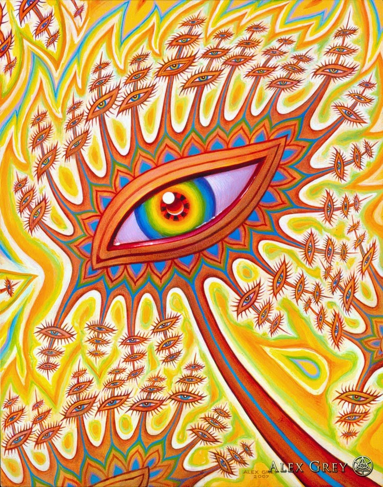 Art Eye: Ophanic Eyelash, Alex Grey