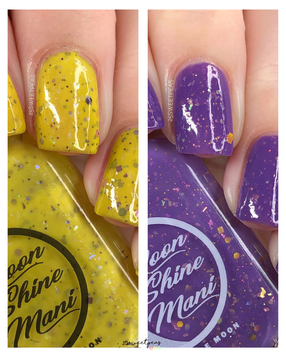 Moon Shine Mani Opposites Attract Duo