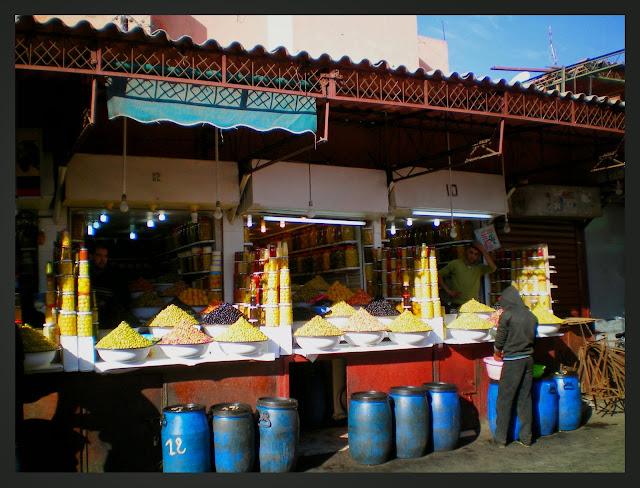 Zoco Marrakech aceitunas