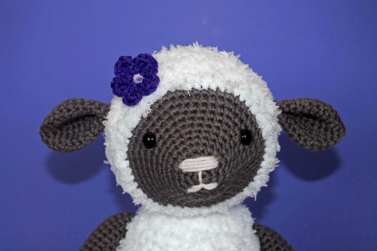 Amigurumi Cute Sheep Free Pattern | Crochet sheep, Crochet sheep ... | 800x1200