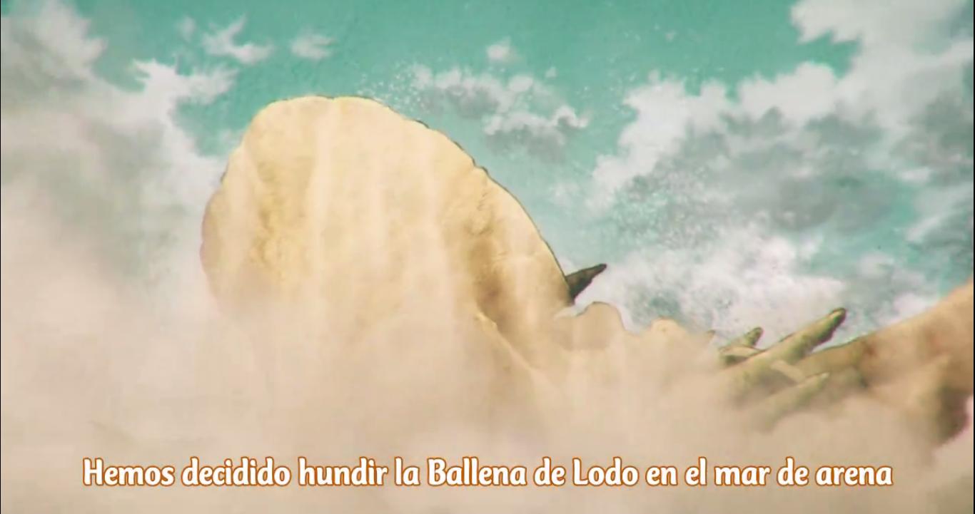 Kujira no Kora wa Sajou ni Utau Review Capítulo 4 Hundir Ballena de Barro