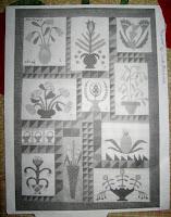 Linda Brannock's Flowers quilt